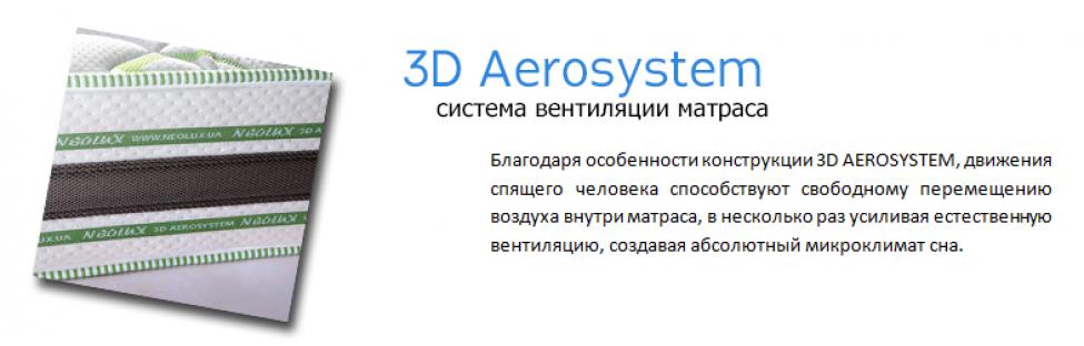 3d Aerosystem - Уникальный эффект терморегуляции