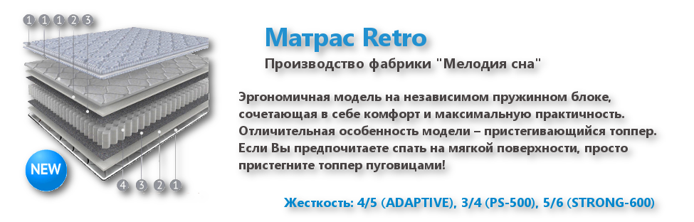 Матрас Retro Мелодия сна