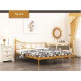 Кровать модель Лилия с мет. основанием
