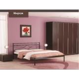 Кровать модель Мираж с мет. основанием