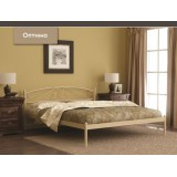 Кровать модель Оптима с мет. основанием