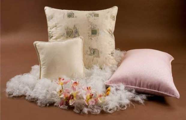 Подушки из синтетического наполнителя