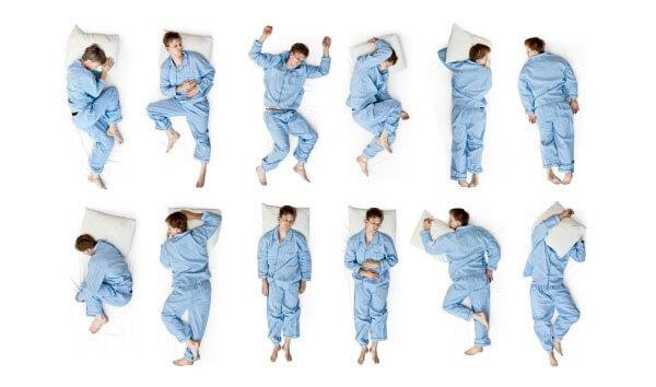 Определяем идеальную позу для сна